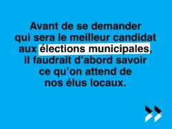 De quels élus locaux avons-nous besoin ?